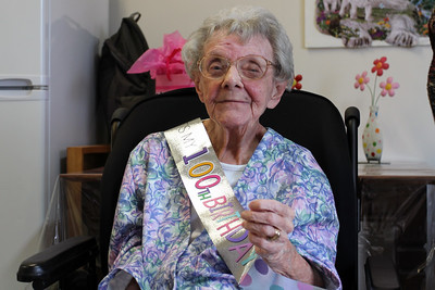 Auntie Peggy's 100th Birthday