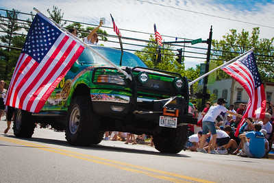 Doogan's Truck at the Aurora 4th of July Parade