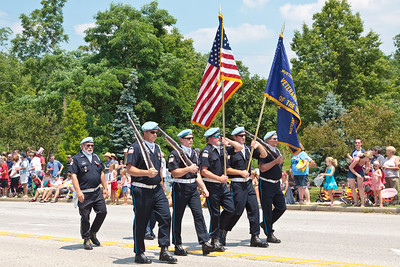 Color Guard @ Aurora 4th of July Parade (2010)