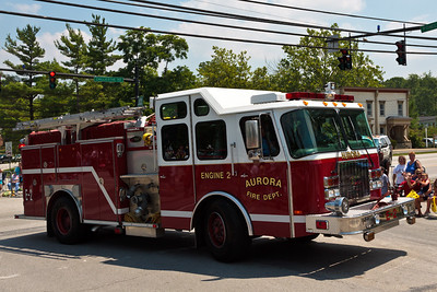 Aurora Fire Dept Engine #2 @ Aurora 4th of July Parade (2010)