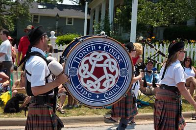 North Coast Pipe Band @ Aurora 4th of July Parade (2010)