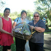 Another gift basket from She's Apples won by the Quilting Ladies