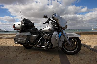 Harley - Fisherman's Pier - Geelong - Australia Jan 2007