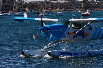 93.9 Bay FM Sea Plane - Geelong Australia - Jan 26, 2007