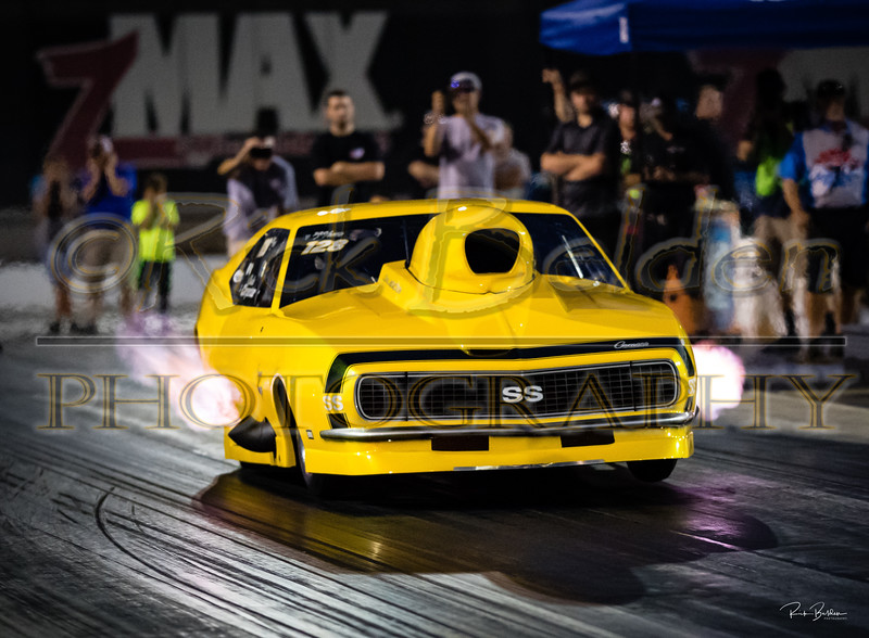 A beautiful ProMod Camaro with  one and only Charles Carpenter behind the wheel.   @DragIllstrated  @RickBeldenPhotography  .........    ..........    .............     ...............