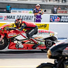 Got to spend some time getting to know Hector Arana JR in the pits yesterday.   Here he is getting it done on the track!   Images for Drag Illustrated Magazine.  ...... ......... @DragIllustrated  @ZMaxDragway  @NHRA  @Hectorjr300 @LucasOilProducts ........  .........