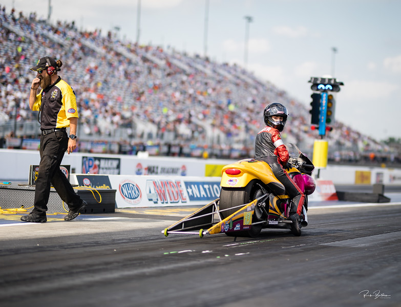 Tough weekend for my friend Melissa at the NHRA 4-Wide in Charlotte.   Still early in the season, plenty of time to make it up!  ....... @melissasurber13  @crsurber  ..........