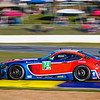 """You don't see too many Mercedes Benz like this...  GTD Class racing in the IMSA series at the """"Petit LeMans"""" Sports Car Edurance Race.     .................................................."""