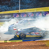 """In racing when you draft someone so close that they lose the benefit of rear downforce spin outs like this will happen.  Photos from the IMSA series at the """"Petit LeMans"""" Sports Car Edurance Race.     .................................................."""