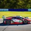 "Lamborghini Huracan racing in the IMSA series at the ""Petit LeMans"" Sports Car Edurance Race.     .................................................."