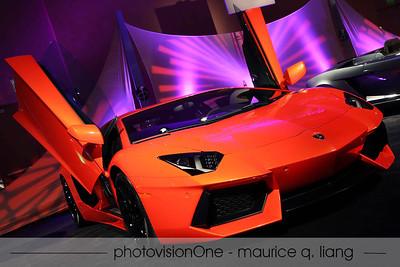 Lamborghini Aventador.  A vent.  A door.