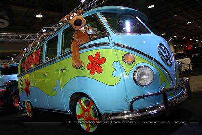 and a Scooby Doo van!