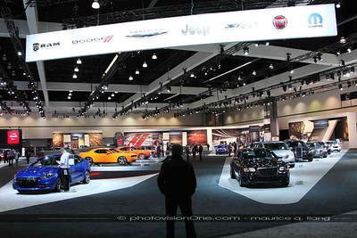 Chrysler's booth.