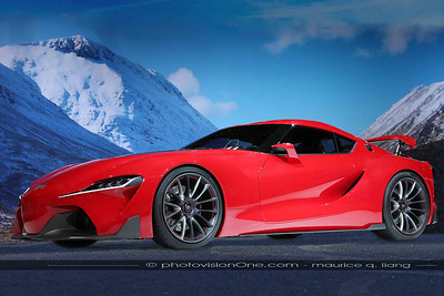 Toyota FT1 Concept.  The next Supra?  Here's what it would look like in the real world!