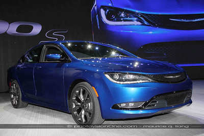 New Chrysler 200.