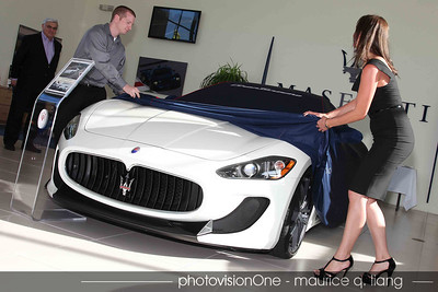 Unveiling the latest Maserati.