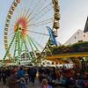 Ferris wheel on Münsterplatz, Basel