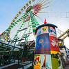 Ferris wheel at Basel Autumn fair