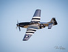 "Hard to tell on Social Media how sharp this image really is...but he was about 1/2 mile away going ~300mph and if you zoom in you can clearly see the name ""Scooter"" by the canopy!  One of the most beautifu P51 Mustangs you will ever see.  Owned by  @quicksilverp51  All shots from the ""Warbirds over Monroe"" Air Show this past weekend using my Canon 400mm with a Teleconverter.  ................................................."