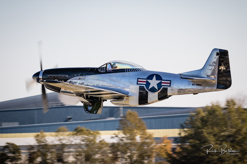"One of the most beautiful planes you will see.  This is ""Scooter"" in his P51 Mustang.  @quicksilverp51  All shots from the ""Warbirds over Monroe"" Air Show this past weekend. ......................................"