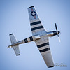 "The underbelly one of the most beautiful planes you will see.  This is ""Scooter"" in his P51 Mustang.  @quicksilverp51  All shots from the ""Warbirds over Monroe"" Air Show this past weekend. ......................................"