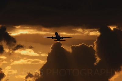 757 Departure, MIA Runway 8R | Miami, FL