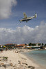 St Barths Commuter Cessna 208B Caravan arriving into Princess Juliana Airport, St Maarten.