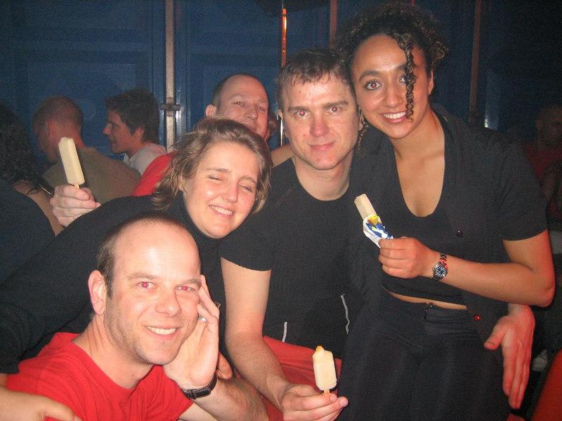 Martin, Caro, Sander, Sjoerd and Melika