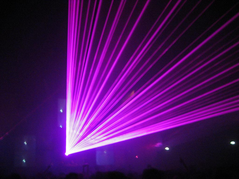 Lasers!