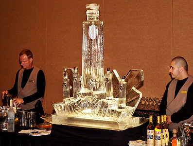Photographs of 5-Star Awards Dinner for Nightclub and Bar Show Convention sponsored by IS Vodka.