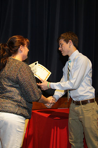 Awards Night 2012 - Student of the Year: Spanish 3