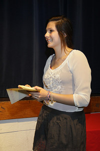 Awards Night 2012 - Student of the Year: Spanish 1