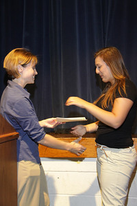 Awards Night 2012 - Outstanding Achievement in Ceramics