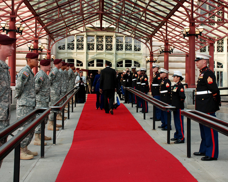 Red Carpet Walkway
