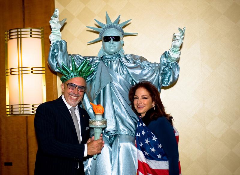 Gloria Estafan, Entertainer;  Emilio Estafan, Record Producer