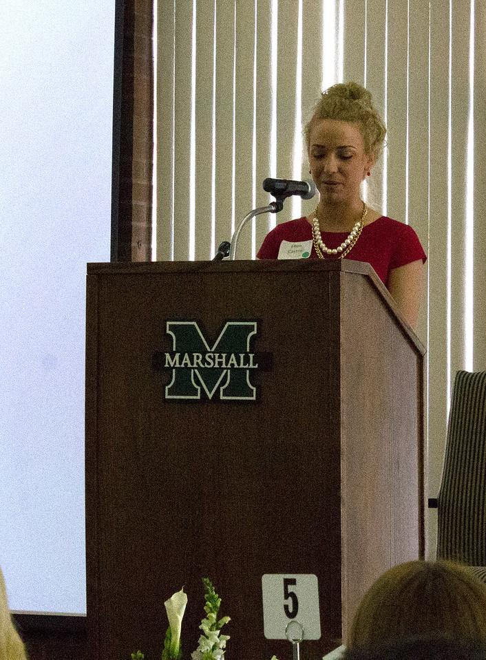 First Student Speaker