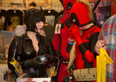 Deana Davis(Cat Woman), Adam and Ashley ( Deadpool)