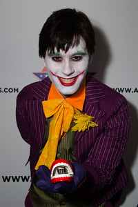 Travis as The Joker