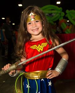 Lillian Evans as Wonder Woman