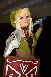 "Jillian Ryan (Richmond Va.) Link from the ""Legend of Zelda"""