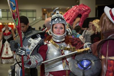 Rebecca Ryan as Hilde Soul Calibur (Manassas, Va.)