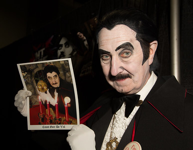 Count Gore De Vol is a television horror host who originally appeared on Washington, DC's WDCA from 1973 to 1987