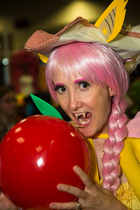 "Crystal Trezza (Odenton MD) as Fluttershy from ""My Little Pony"""