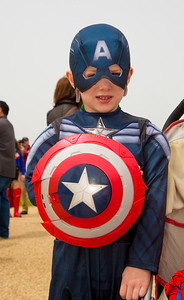 Gus (age 6) as Captain America  (Falls Church VA)