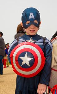 Gus (age 6) as Captain America  (Falls Church VA)