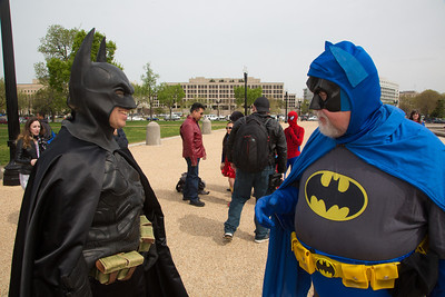 Phil Custacio (Flint, Mi) as Batman Rich Willett  (Sterling Va)