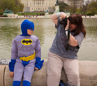 Ian (age 10) as Batman