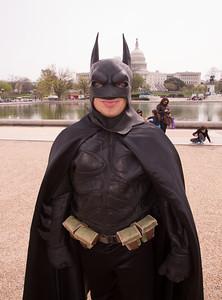 Phil Custacio (Flint, Mi) as Batman