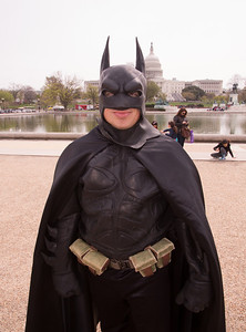 Phil Custacio (Flint, Mi) as Batman