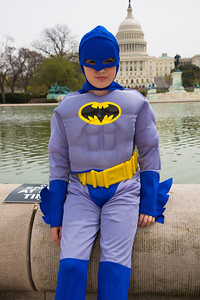 Ian (age 10) as Batman